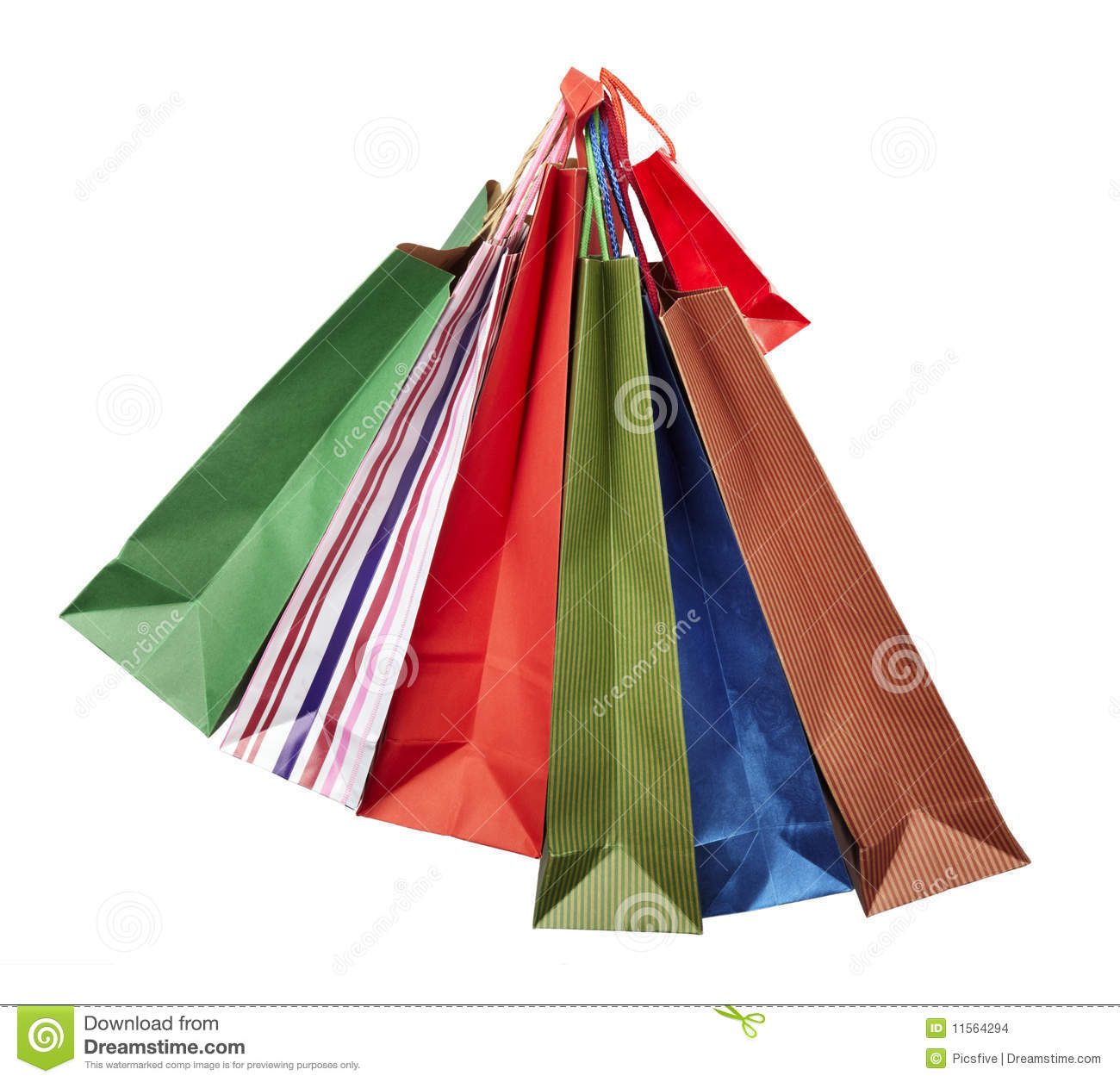 Woman On Shoping Stock Photography - Image: 22479012