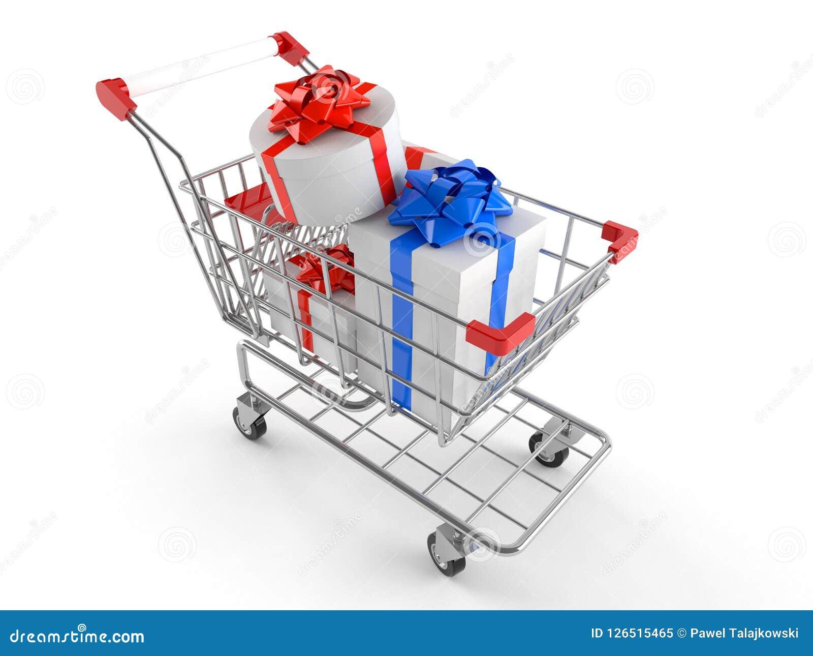Shoppa för vagnsgåvor