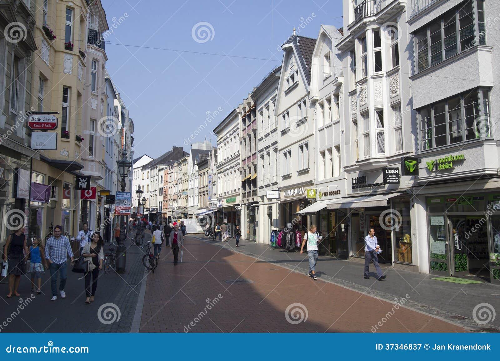 Shoppa i Bonn, Tyskland