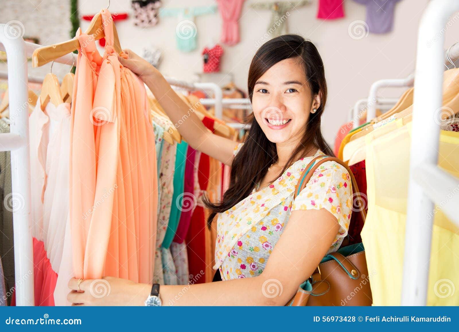 Shoppa lagerkvinna
