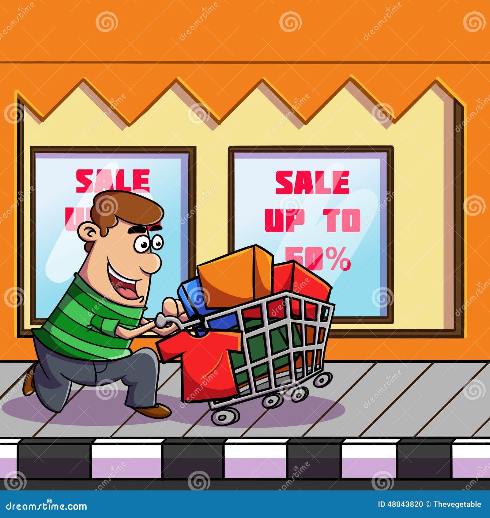 Shoppa till marknaden