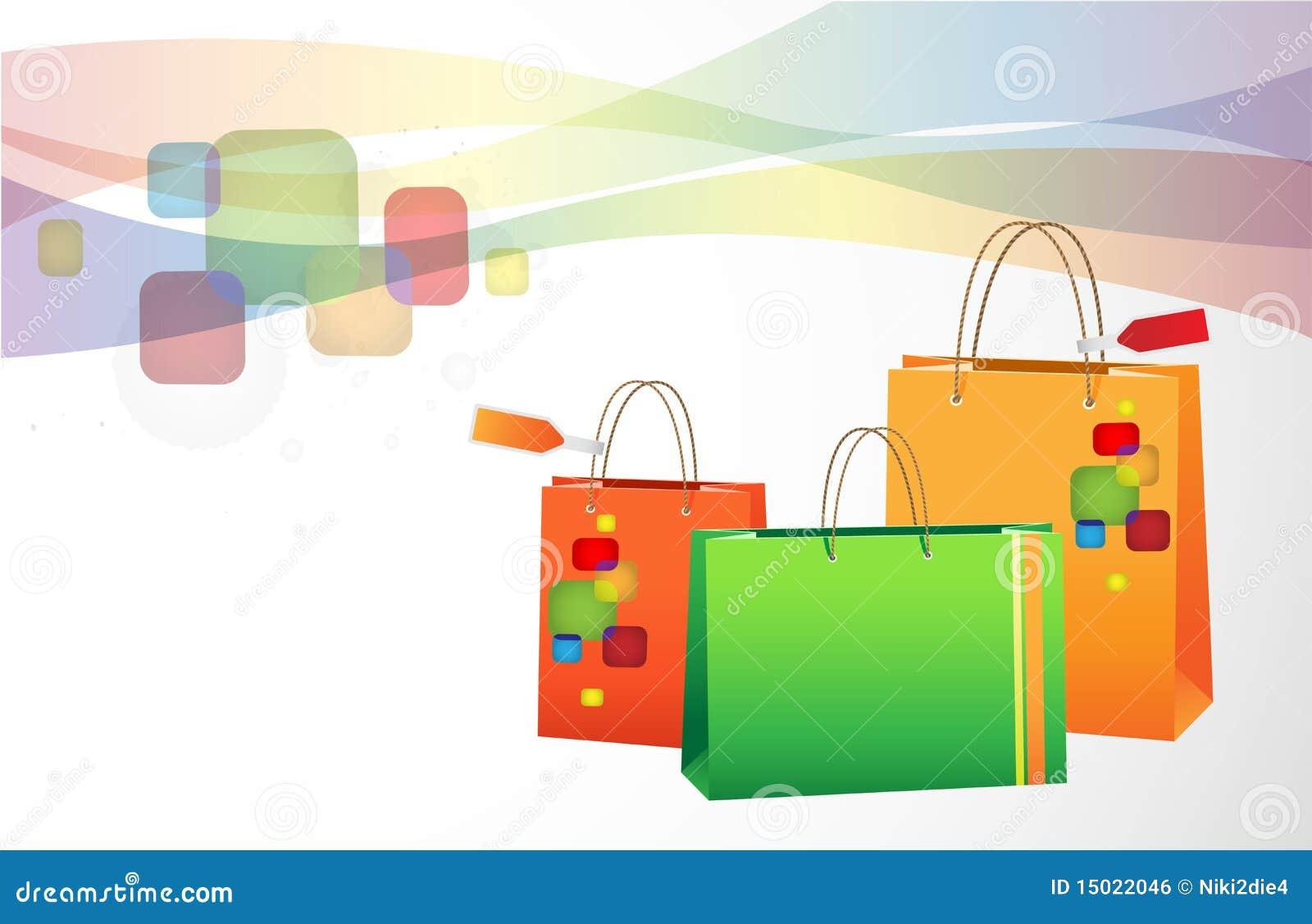 Shopping Background Royalty Free Stock Image - Image: 15022046