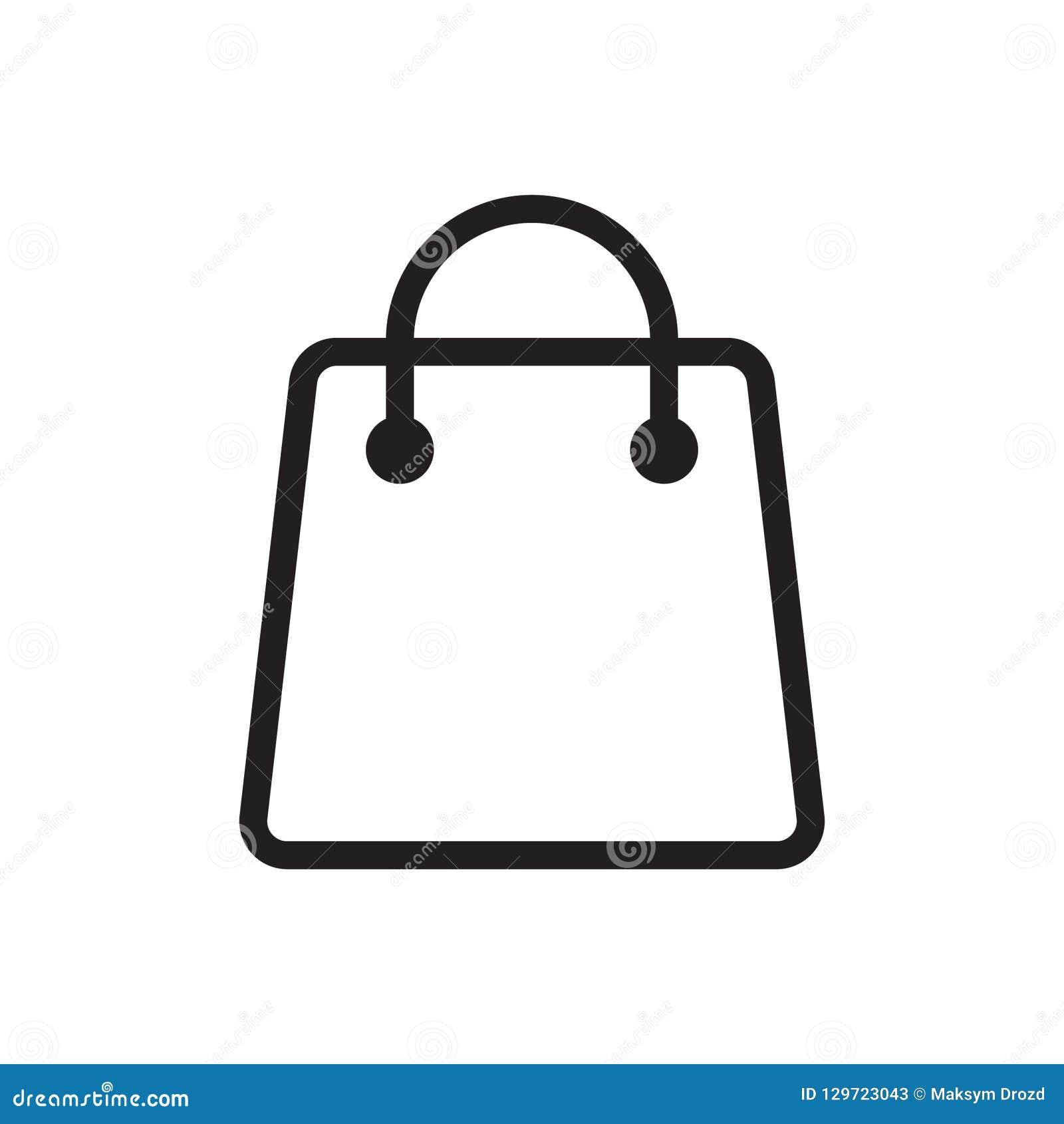 Shopping Bag Icon Stock Illustration Illustration Of Package