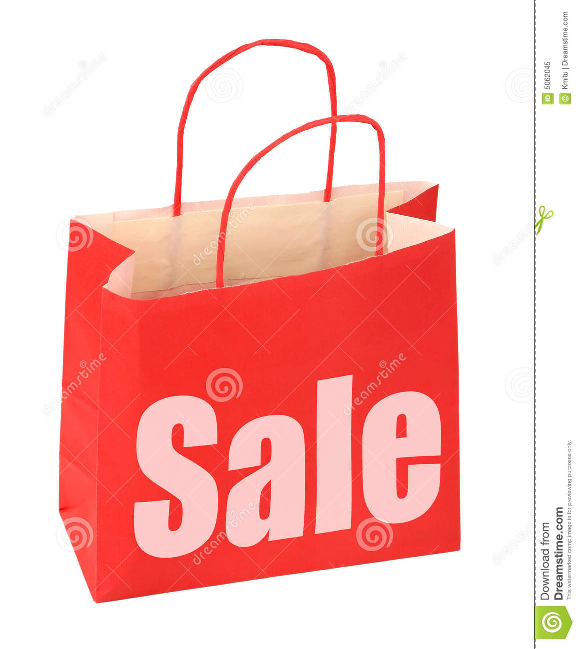b1510fc531eb Shopping Bag With Red Sale Sign Stock Image - Image of accessories ...