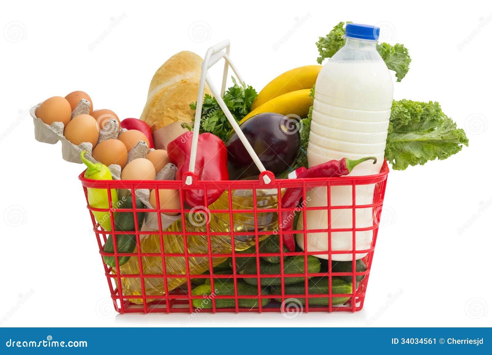 Shopping basket stock image image of fruit product for Shopping cuisine