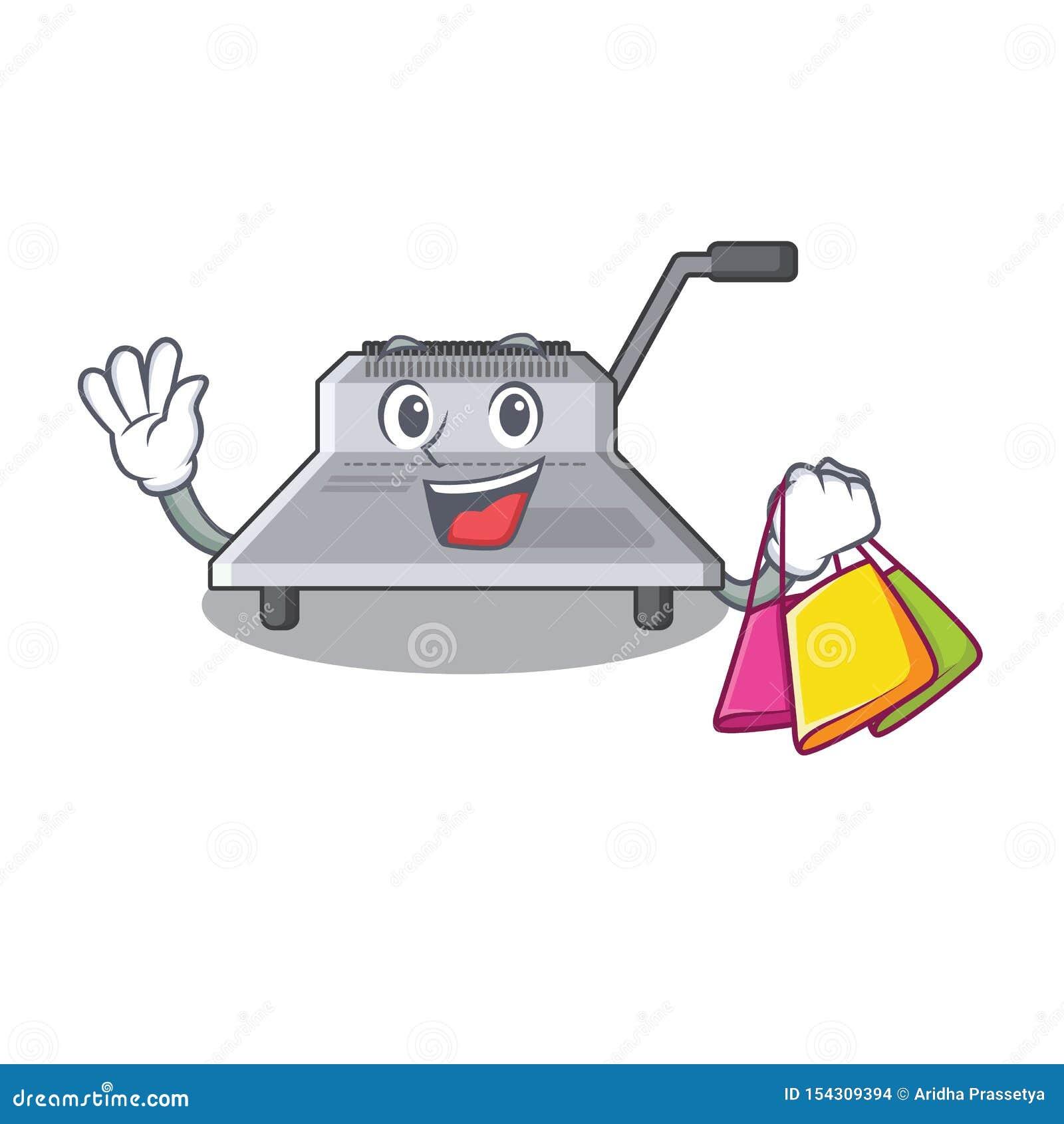 Shopping binding machine in the cartoon shape