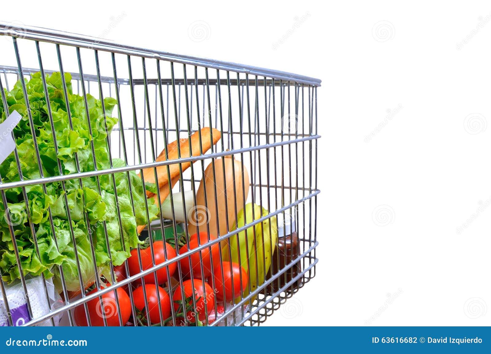 Full Grocery Cart Clipart Shopping Cart Full Of ...
