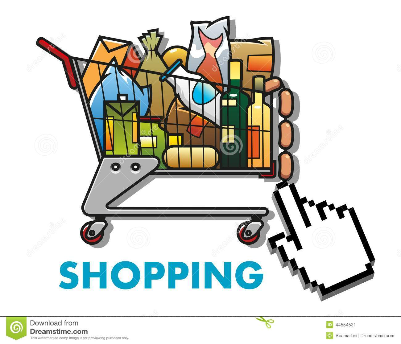 Business plan online grocery shopping
