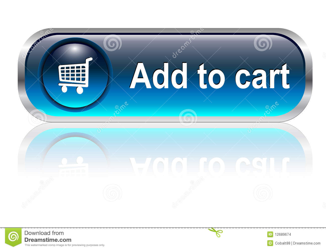 shopping cart icon  button stock images