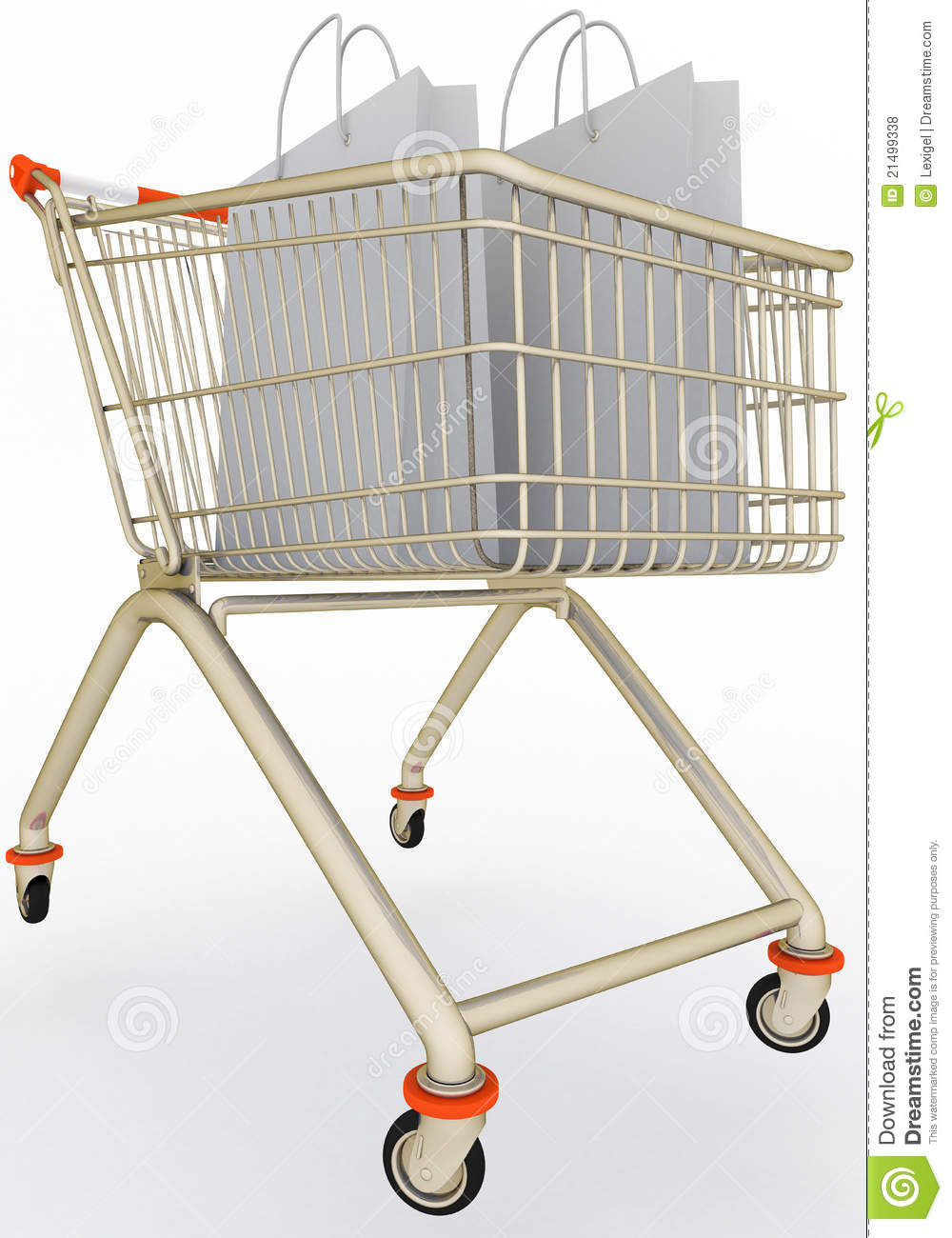 Master thesis about shopping cart