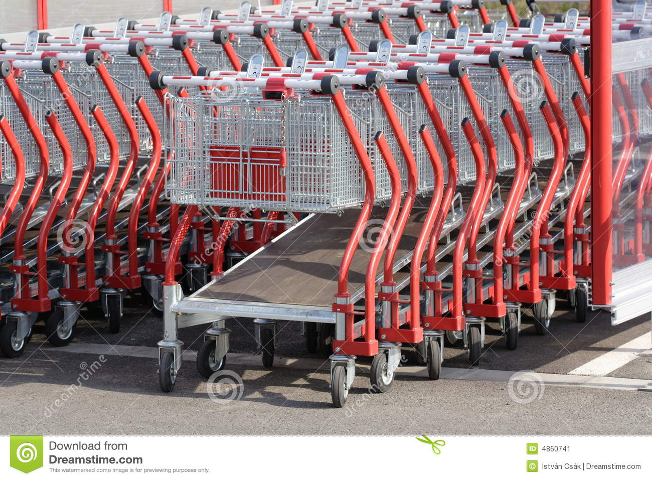 Download Shopping carts stock image. Image of cart, grocery, buying - 4860741