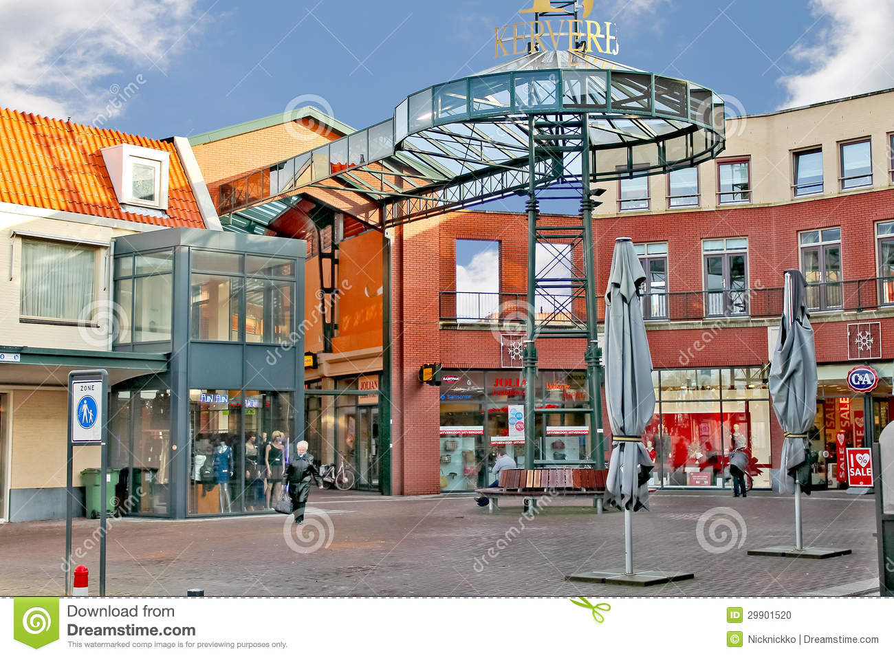 Dutch Square Mall >> Shopping Center In The Dutch City Of Eindhoven. Editorial ...