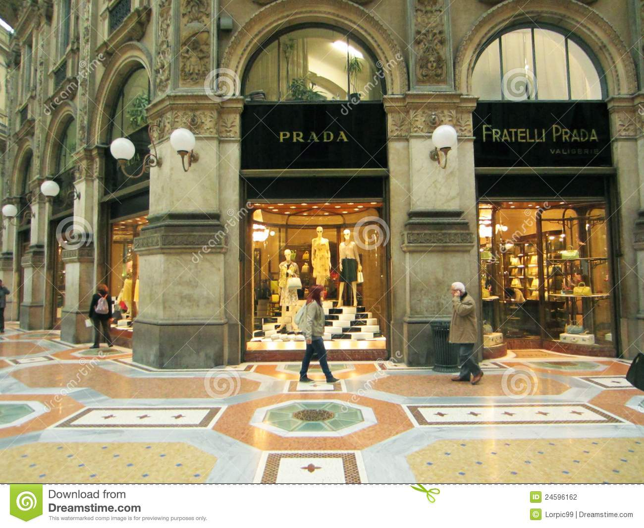 Shopping Center, Milano editorial photography. Image of ...