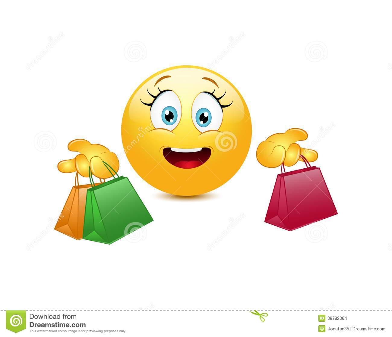 shopping emoticon stock vector image 38782364 tablet clipart template tablet clipart svg