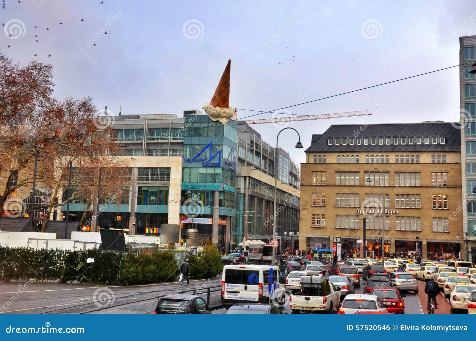 shopping galleries neumarkt in der oberpfalz in cologne editorial photo image 57520546. Black Bedroom Furniture Sets. Home Design Ideas