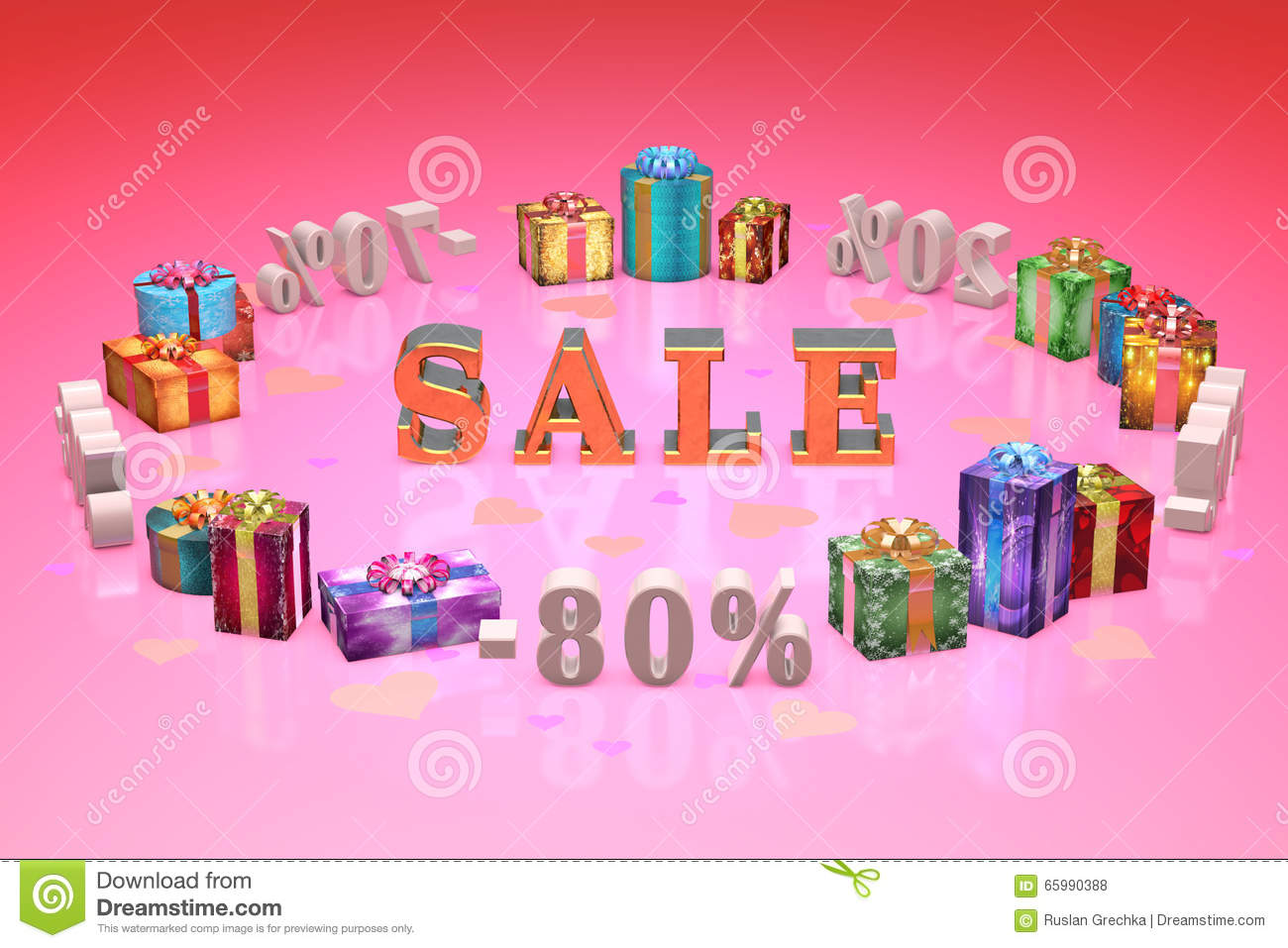 Shopping and gifts Valentines Day (discounts, dumping, , percent
