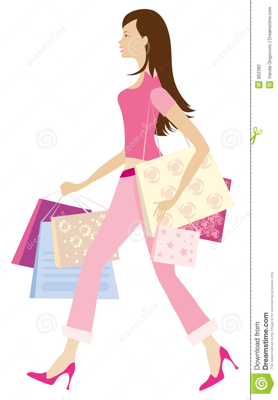 Shopping girl1