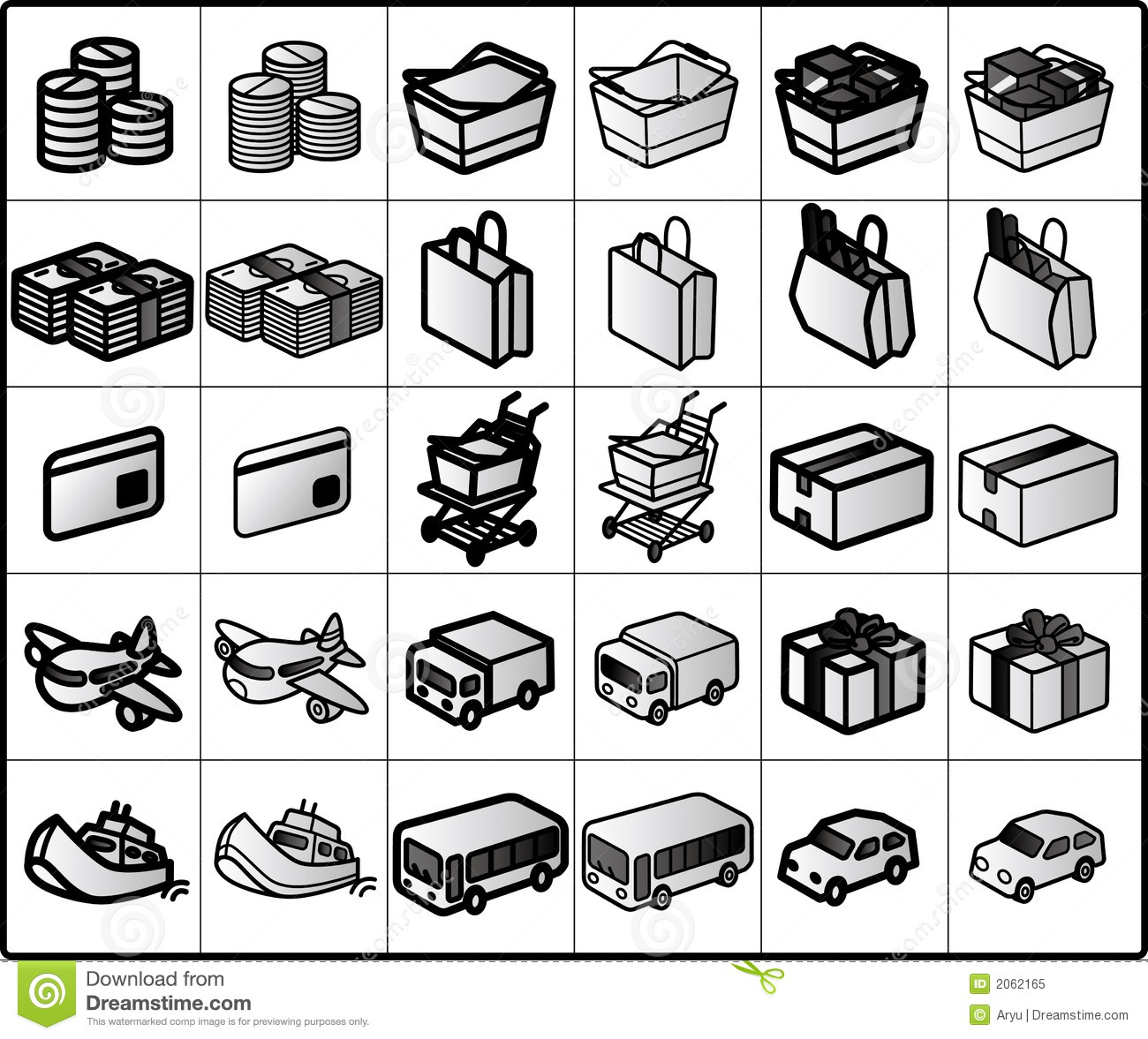 Shopping Icons #01