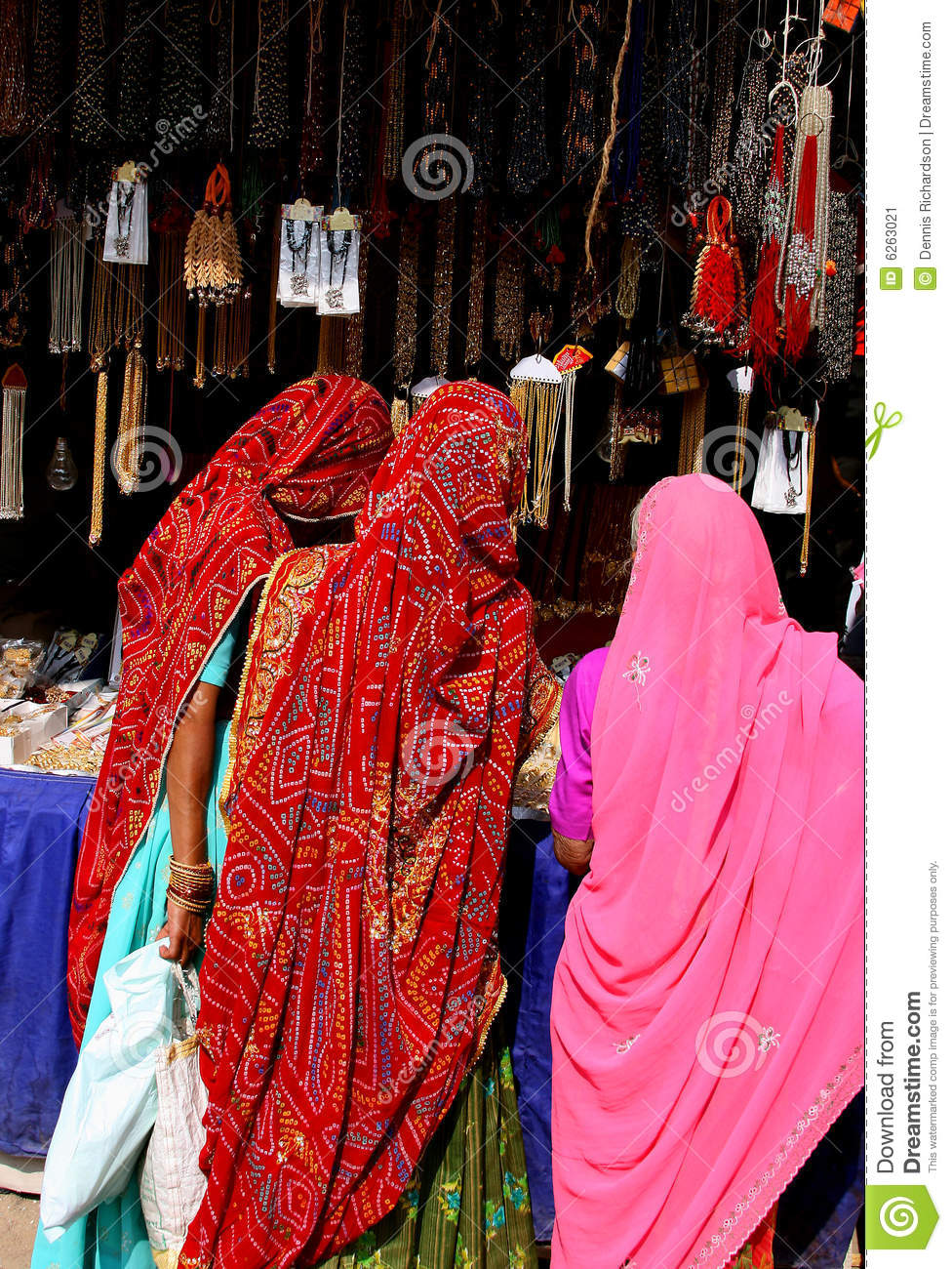 shopping in india stock image image 6263021