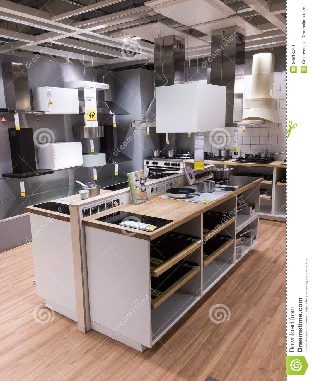 Shopping for kitchen