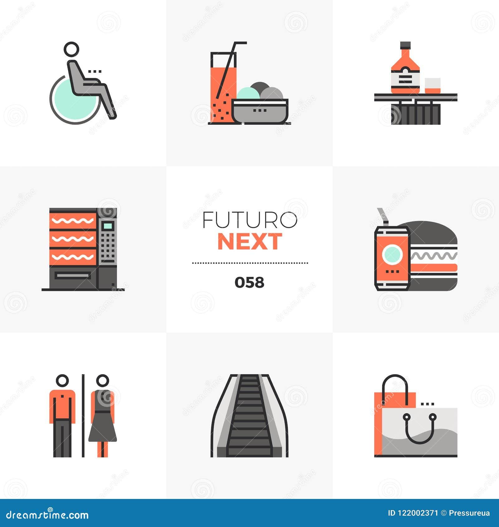 Shopping Leisure Futuro Next Icons