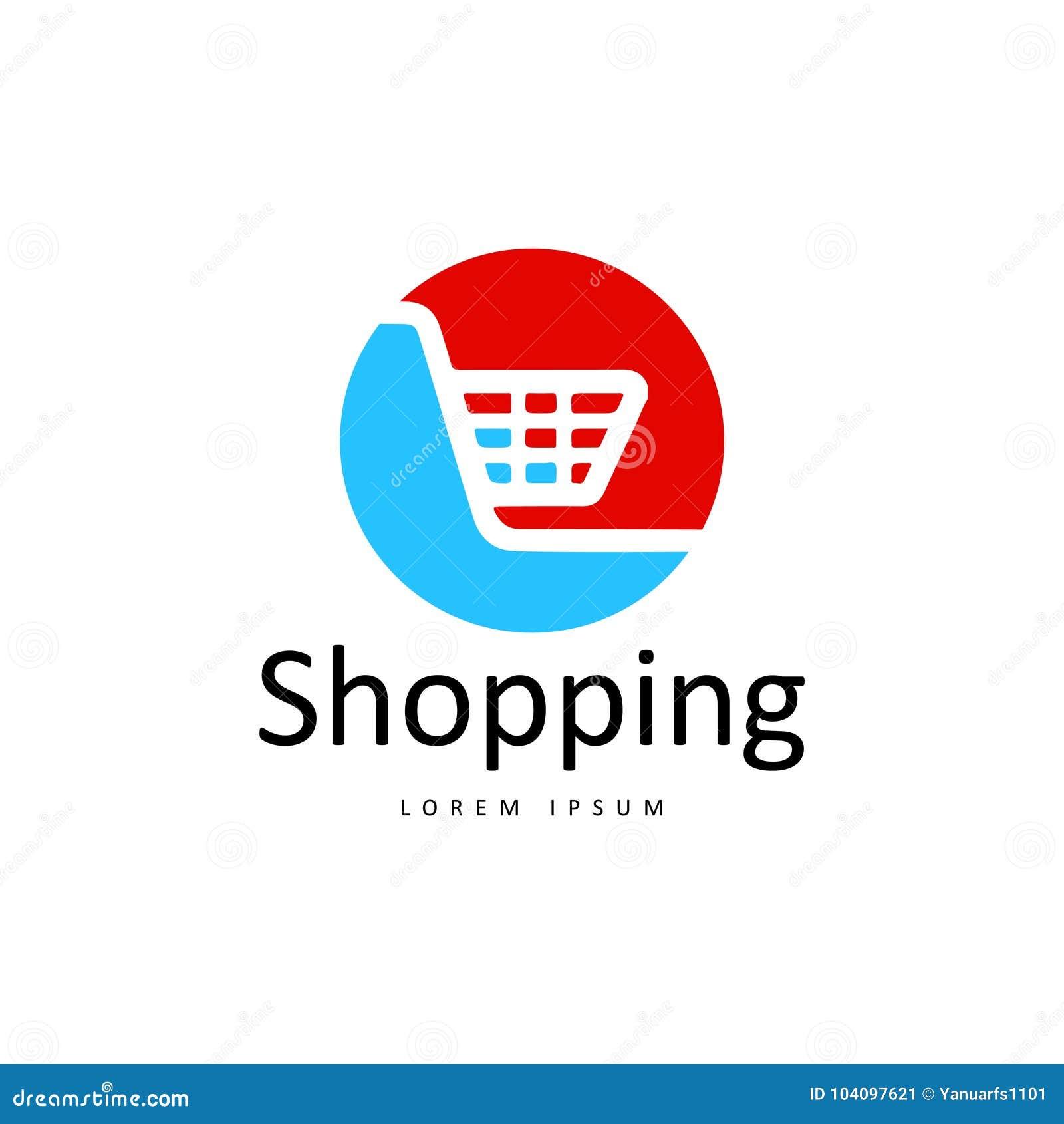 purchase logo template  Shopping Logo Vector Art. Template. Business Stock Vector ...