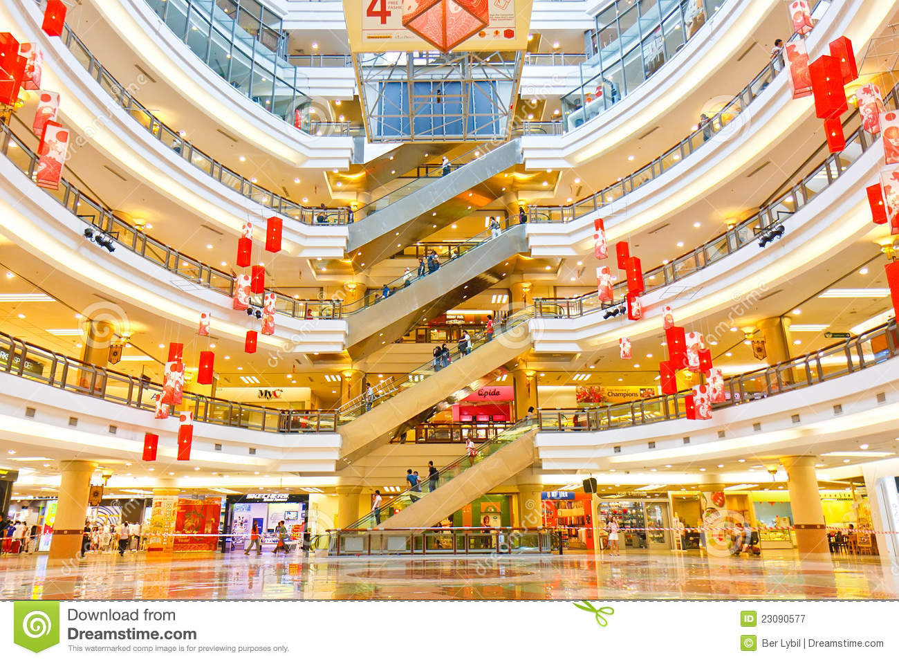 shopping mall and discount