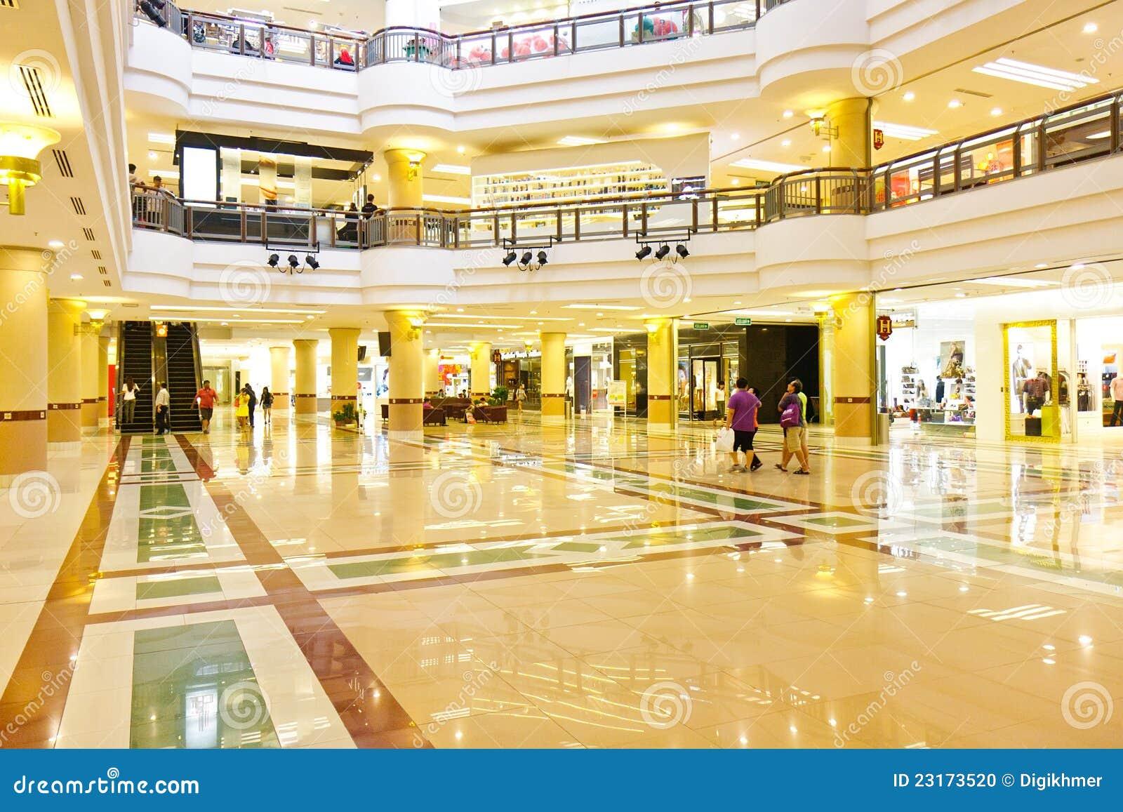 Shopping Mall 1utama Malaysia Editorial Image Image