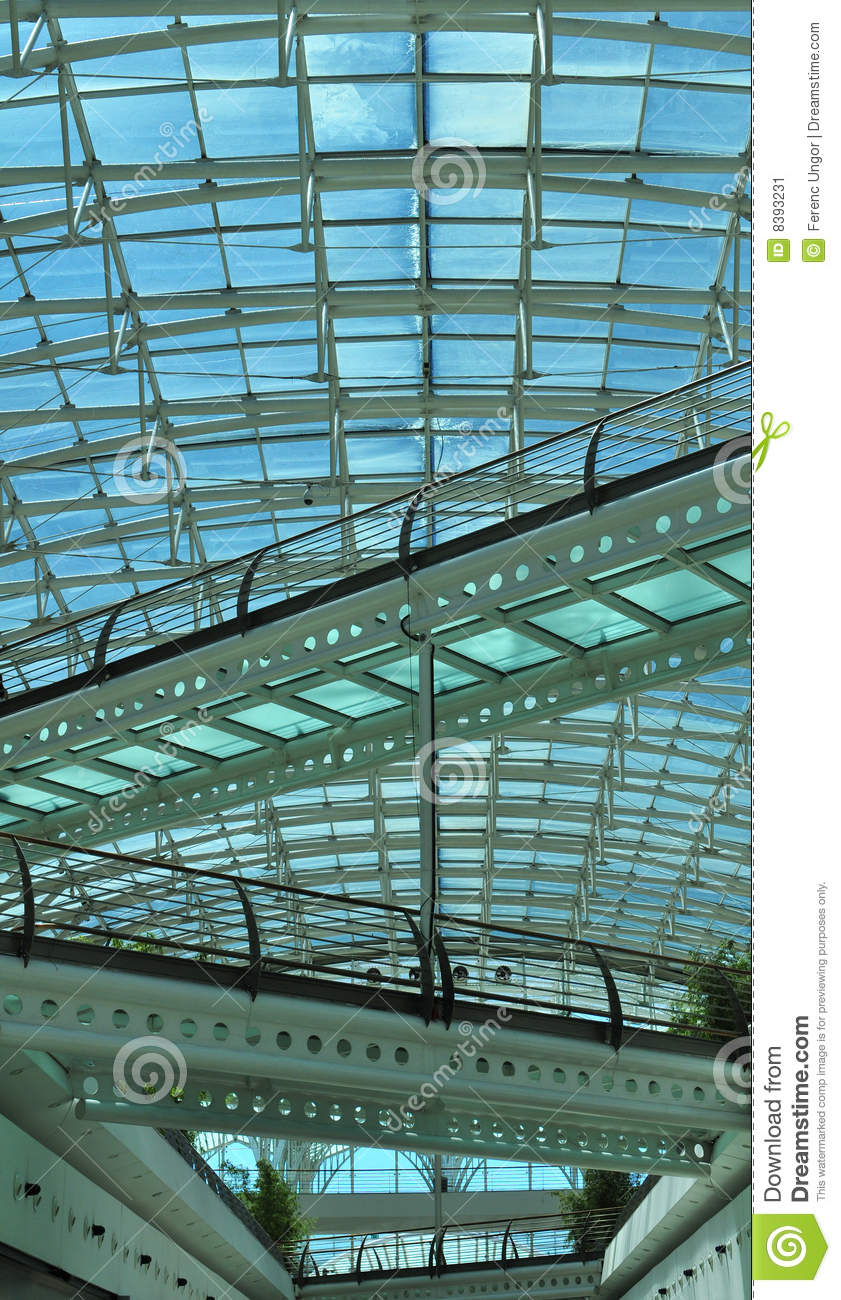 Shopping mall atrium stock image image of lisbon indoor for Where to buy atrium windows