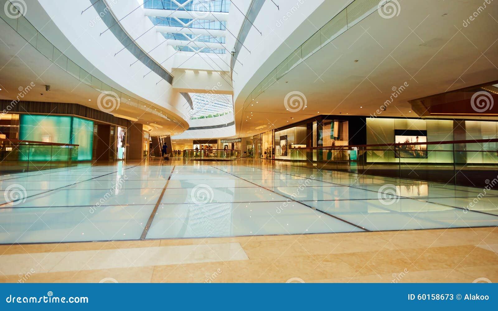 Foyer Hallway Store : Shopping mall stock image of corridor indoor