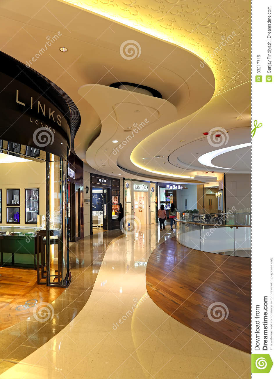 shopping mall interior editorial stock image image of mall 33217719