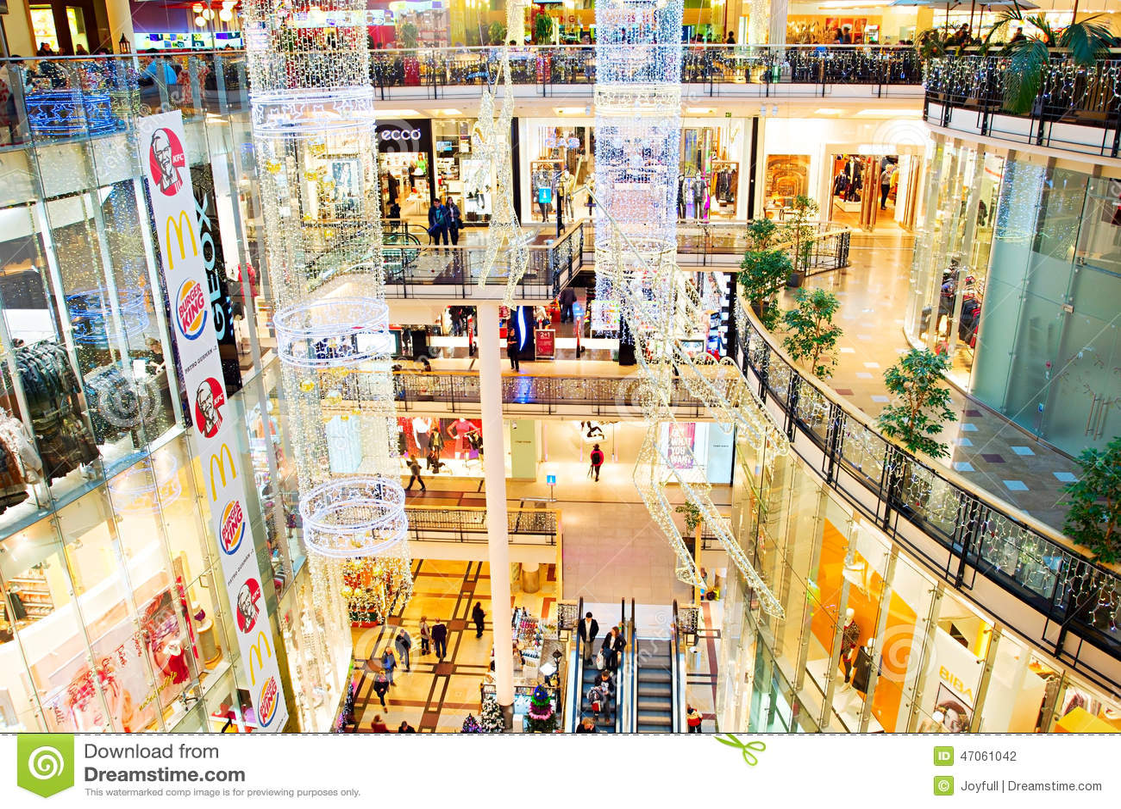Shopping mall prague editorial photography image of for Prague center
