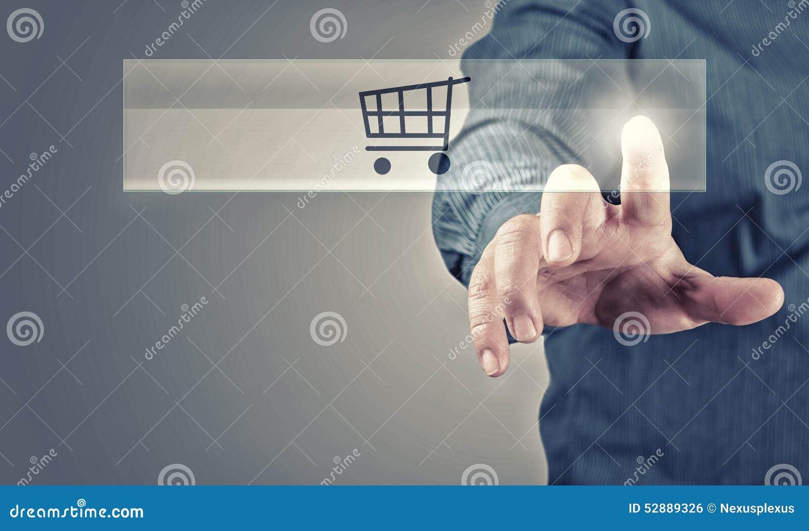 shopping online stock photo image 52889326. Black Bedroom Furniture Sets. Home Design Ideas