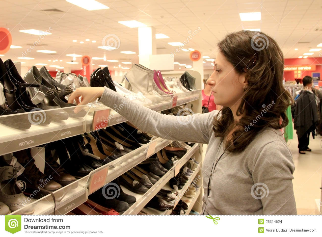 Shopping for shoes