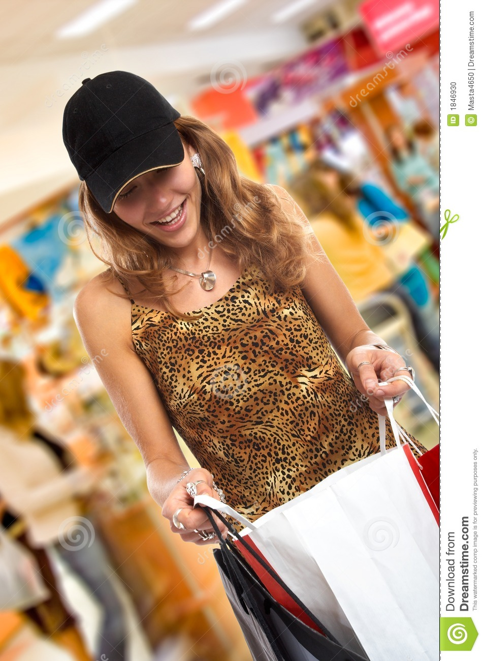 The shopping spree