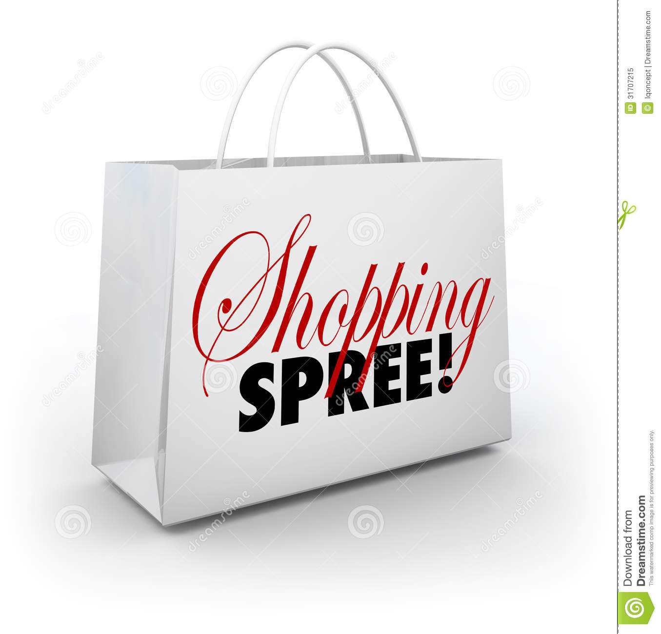 ... Store Spending Money Royalty Free Stock Photo - Image: 31707215