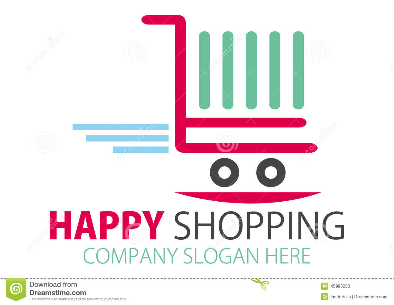Shopping Design Royalty Free Illustration Cartoondealer: online vector editor