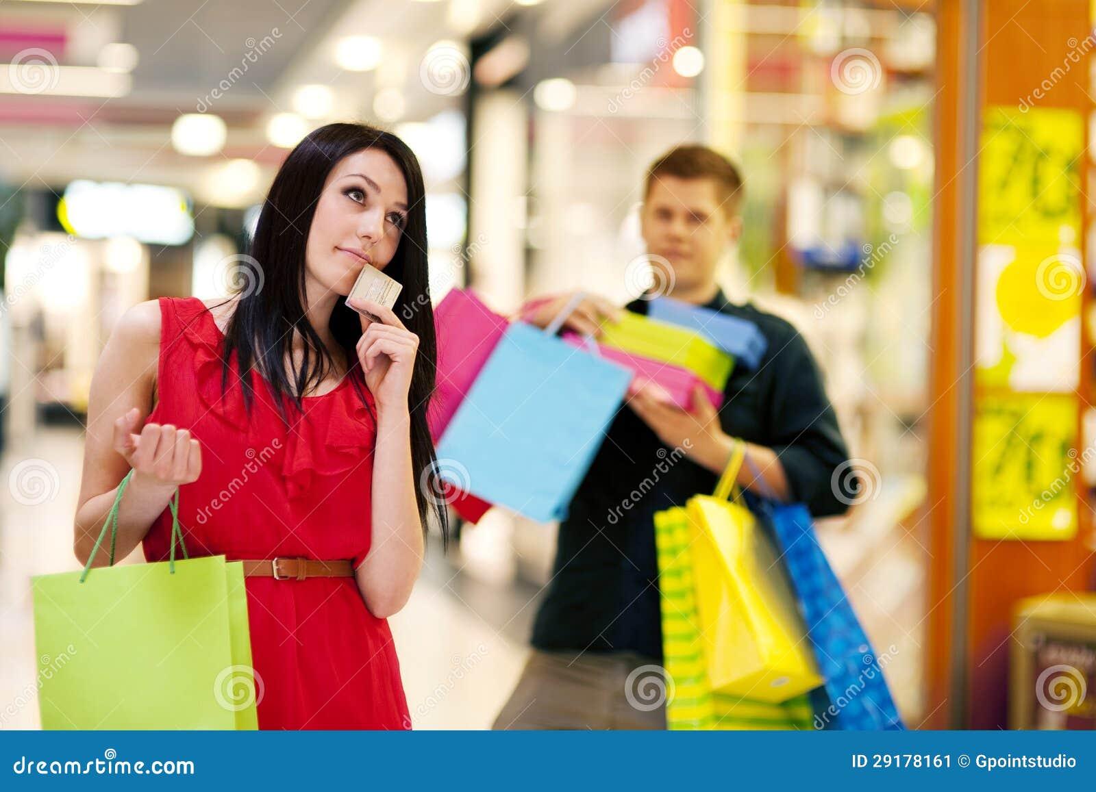 Shopping Time Stock Image Image 29178161