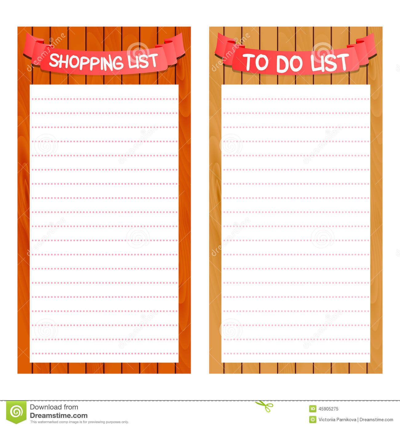 Template For Shopping List  Free Shopping List Template