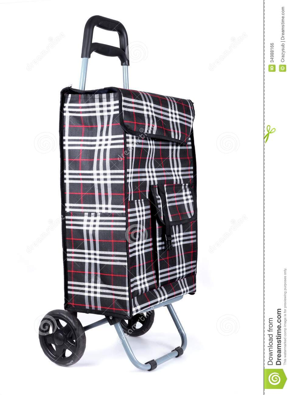 Shopping Trolley Bag Royalty Free Stock Image - Image: 34988166