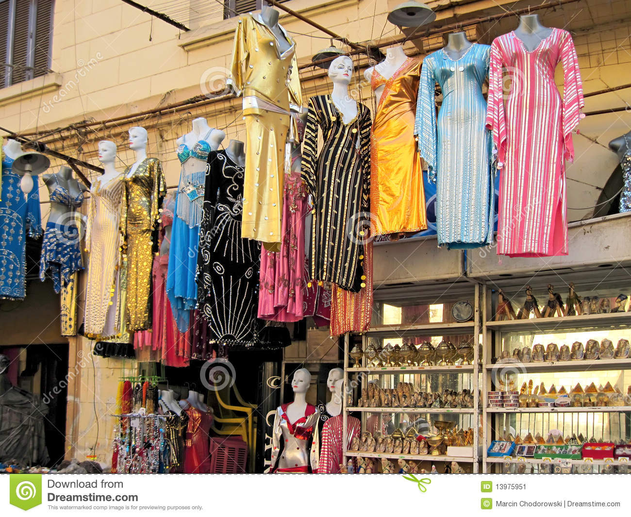 Shops In Cairo Stock Image Image 13975951