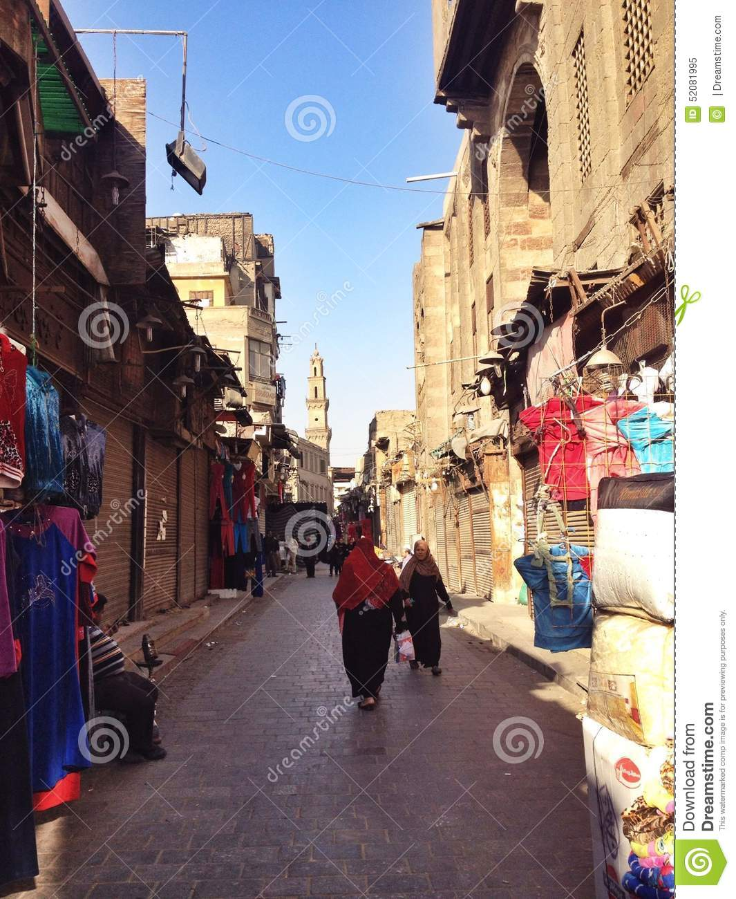 Shops on street in cairo editorial image image 52081995 for Shopping in cairo