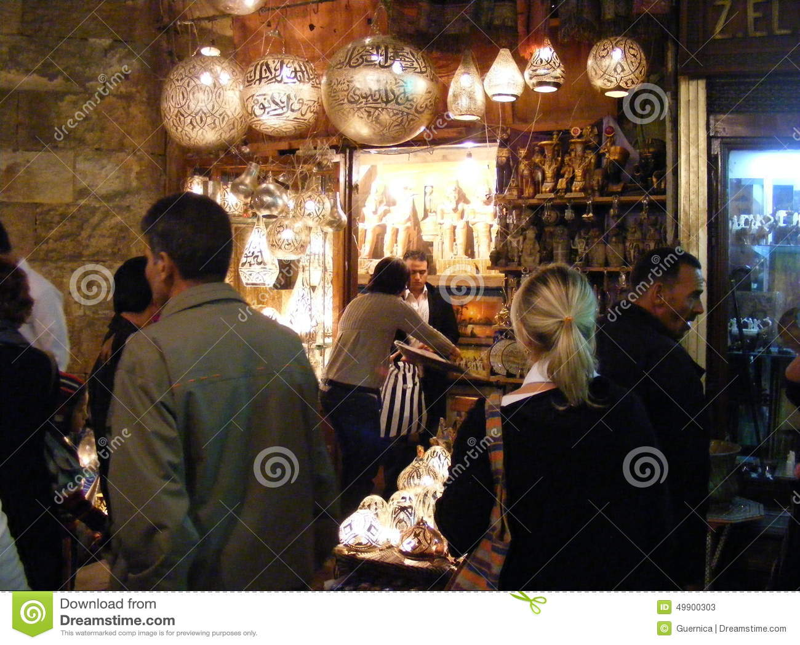 Shopverk ufer der kupferne lampen in khan el khalili souq for Cairo lampen