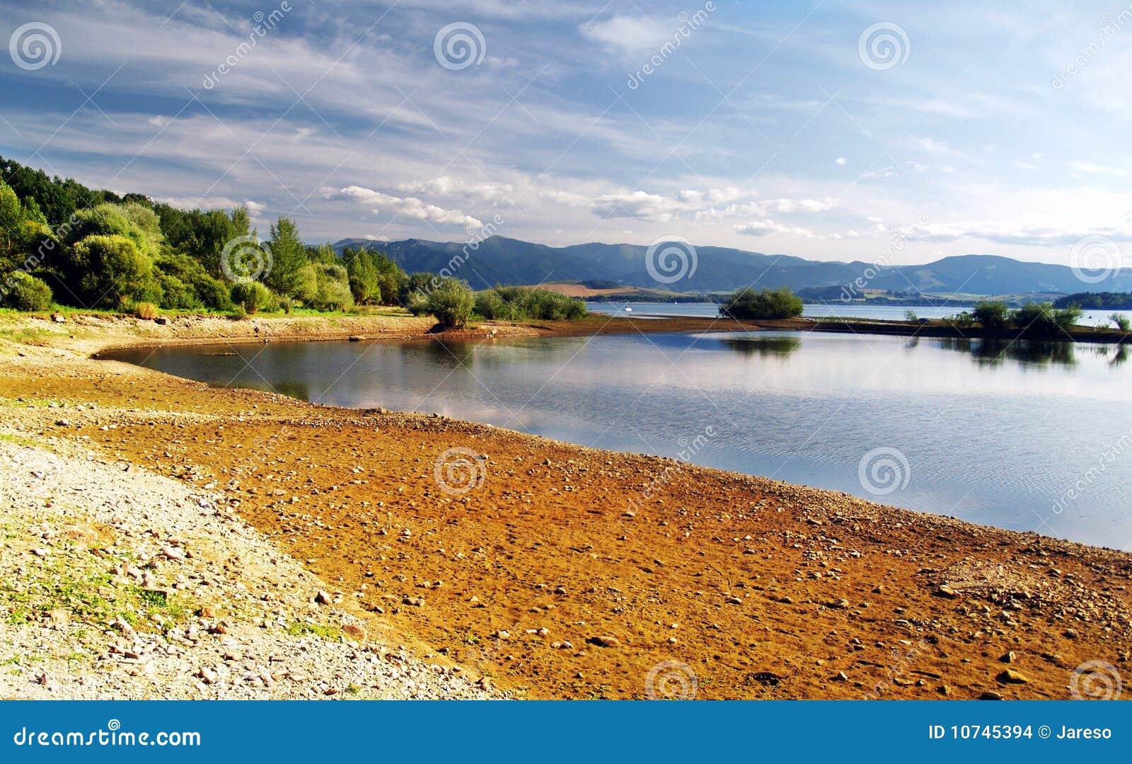 Shore - Liptovska Mara Lake