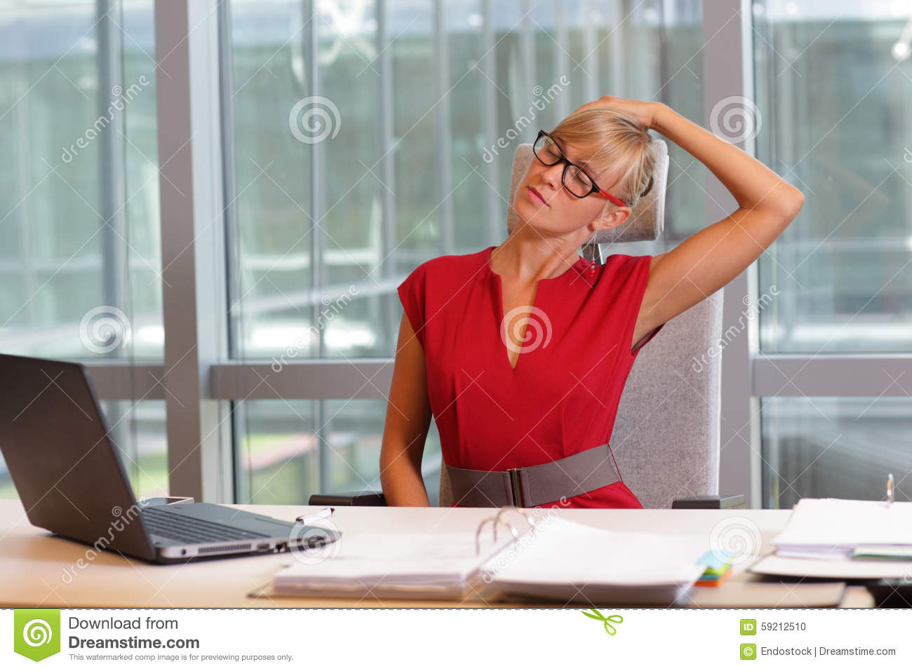 short break for exercise on chair in office - Office Chair For Short Person