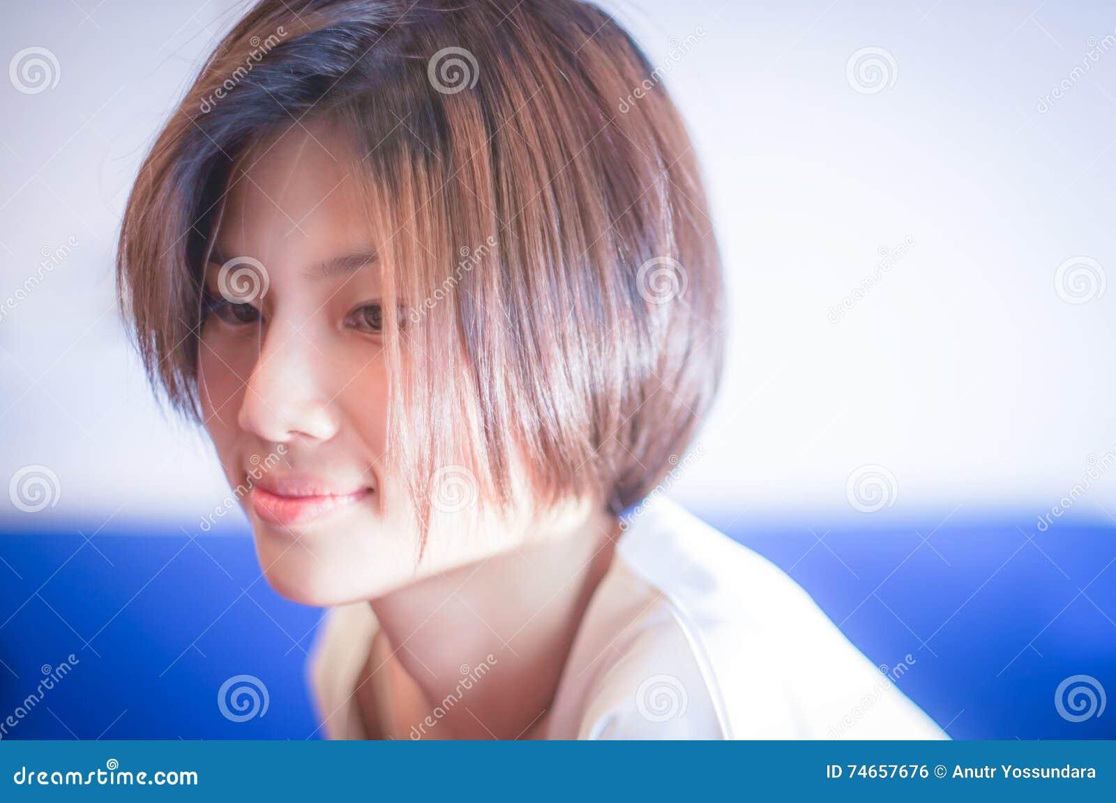 Long hair shorts asian dirty talk
