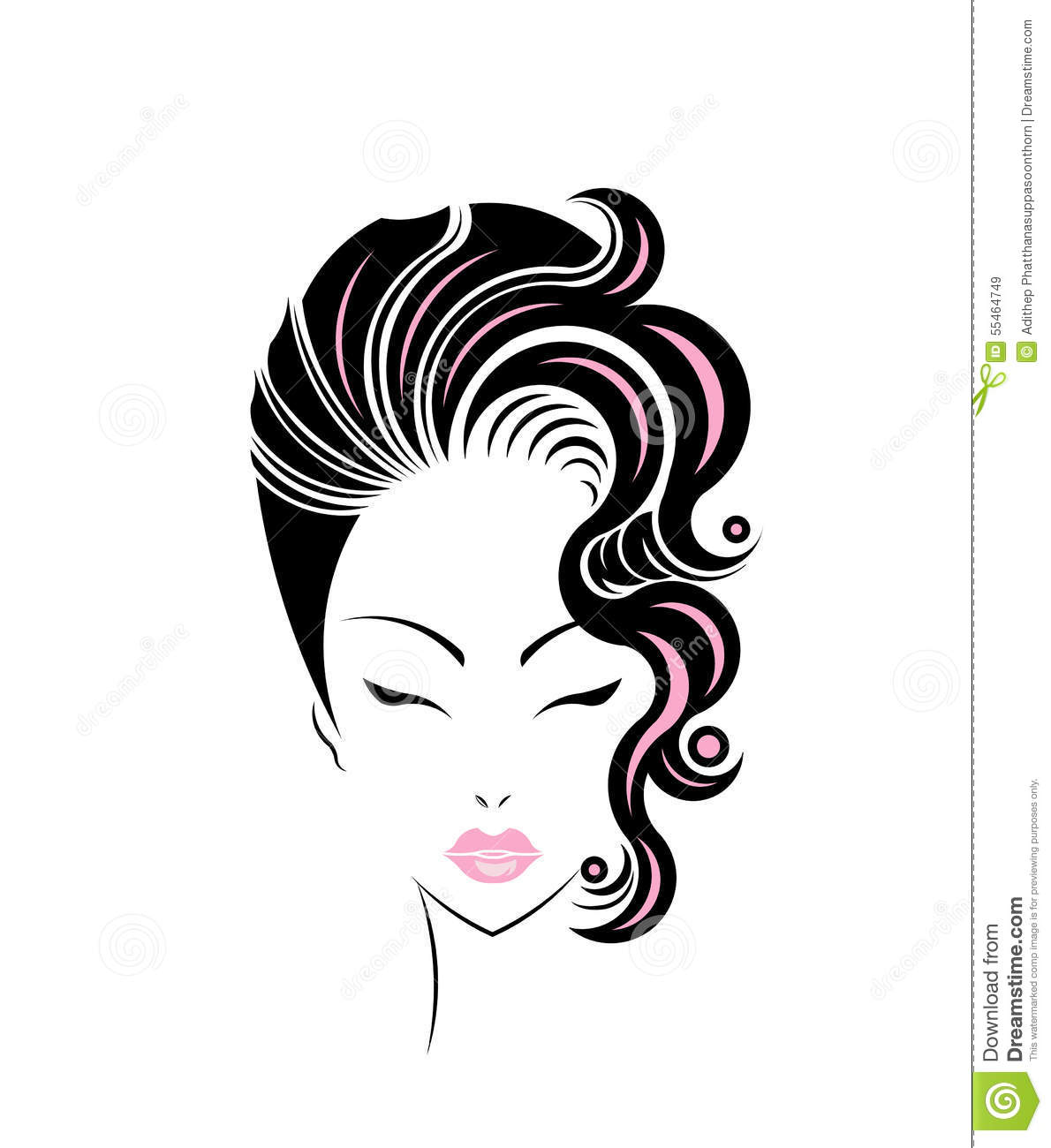 hair vector images - photo #20