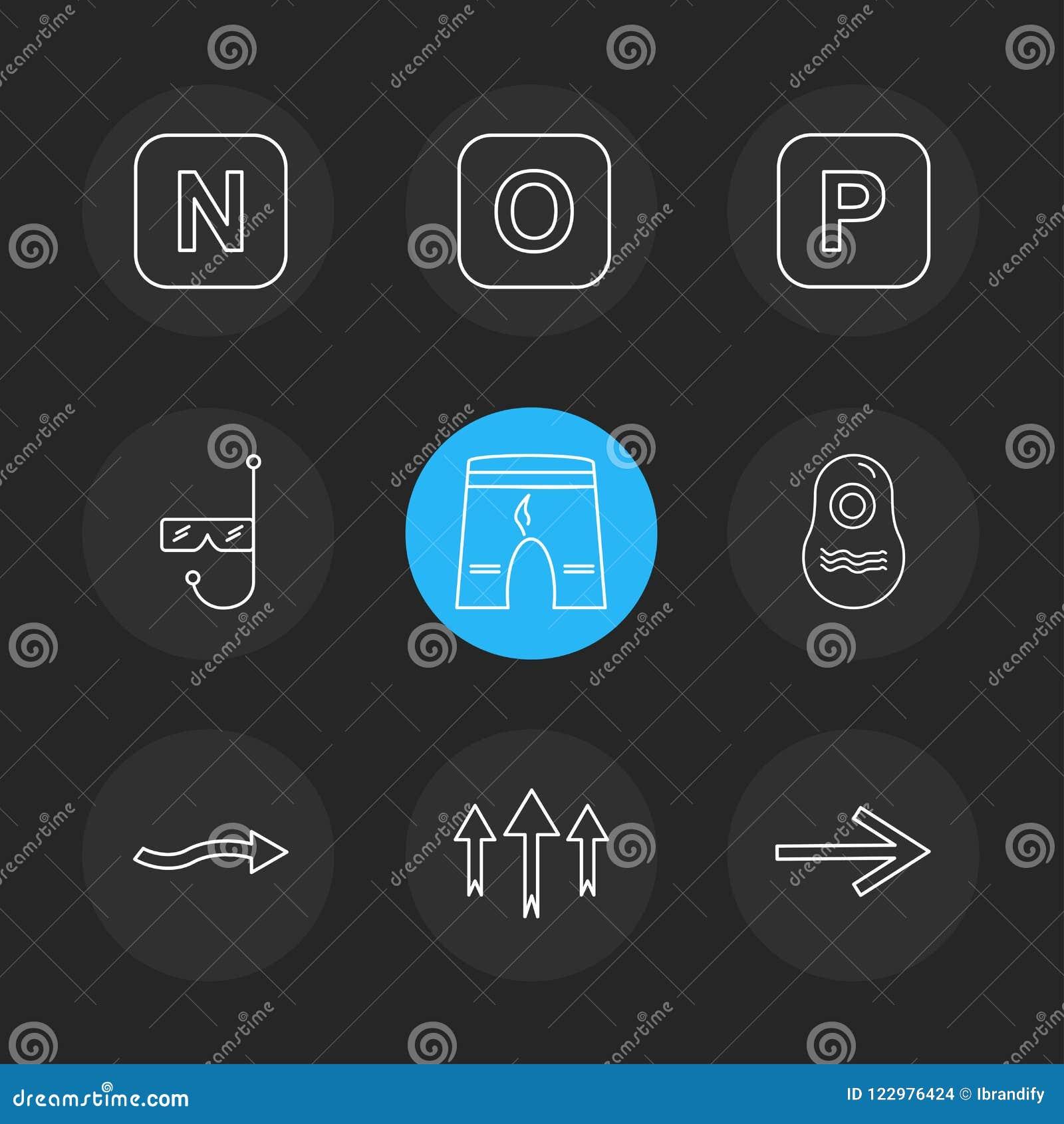 shorts , swimming pool , alphabets , sea , food , picnic , summer , eps icons set vector