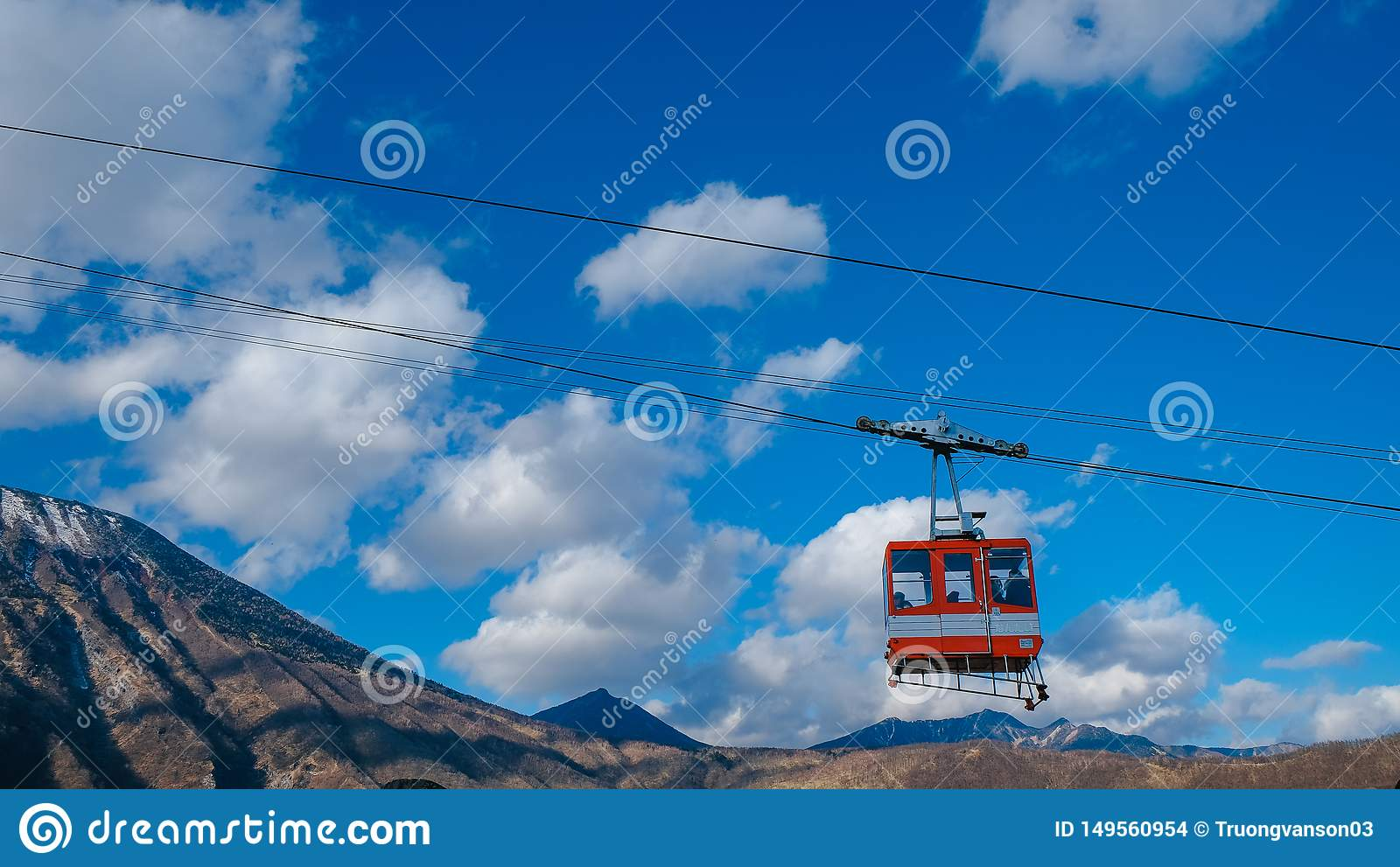 Ropeway to nikko Japan world hesitage
