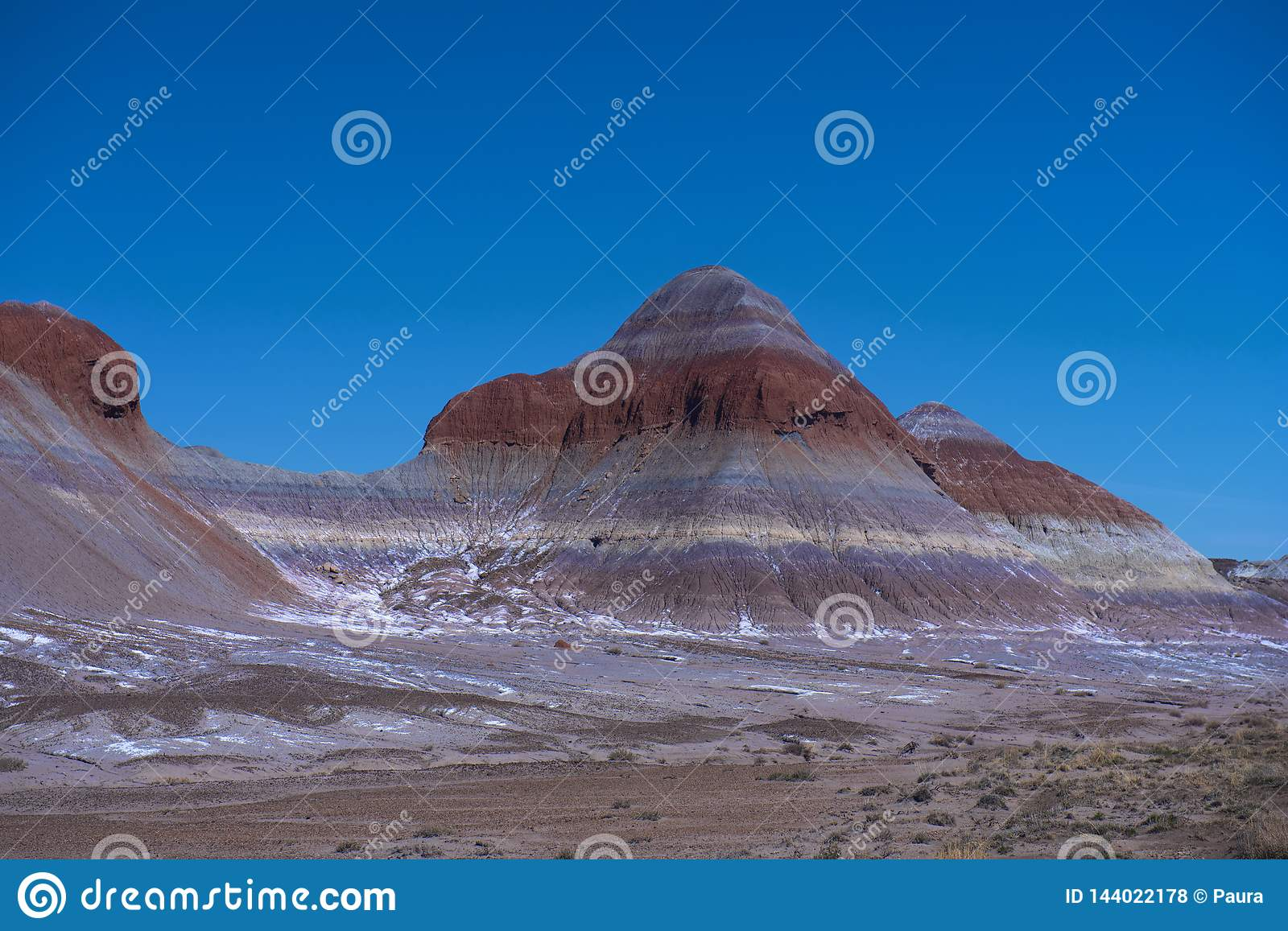 Winter in Painted Desert
